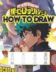 Libro para dibujar de My Hero Academia de 156 paginas 2 Los mejores libros para colorear de My Hero Academia Boku no Hero