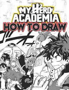 Libro para dibujar de My Hero Academia de 156 paginas Los mejores libros para colorear de My Hero Academia Boku no Hero