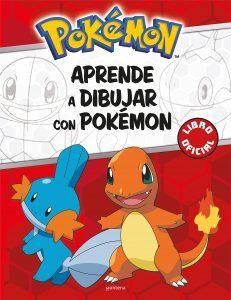 Libro para dibujar de Pokemon de 32 paginas Los mejores libros para colorear de Pokemon