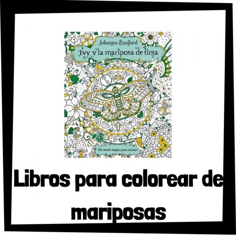 Lee más sobre el artículo Libros para colorear de mariposas