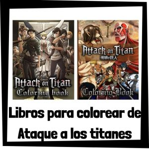 Lee más sobre el artículo Libros para colorear de Ataque a los titanes