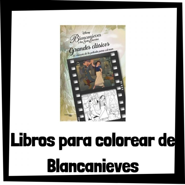 Lee más sobre el artículo Libros para colorear de Blancanieves y los 7 enanitos