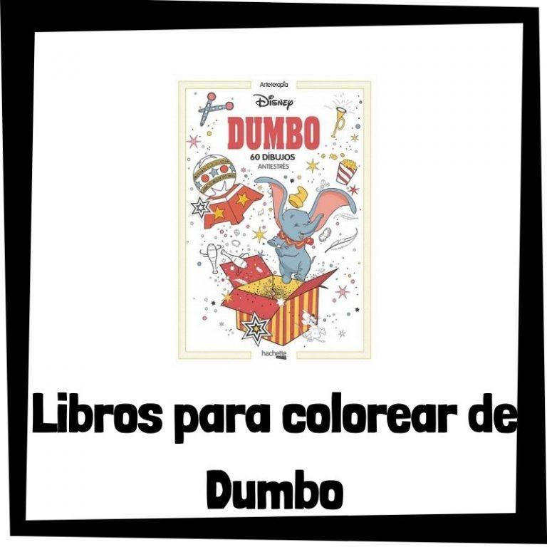 Lee más sobre el artículo Libros para colorear de Dumbo