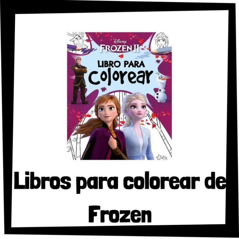 Lee más sobre el artículo Libros para colorear de Frozen