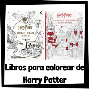Lee más sobre el artículo Libros para colorear de Harry Potter