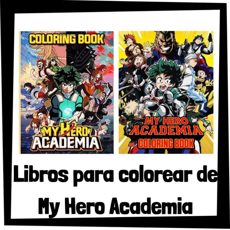 Lee más sobre el artículo Libros para colorear de My Hero Academia