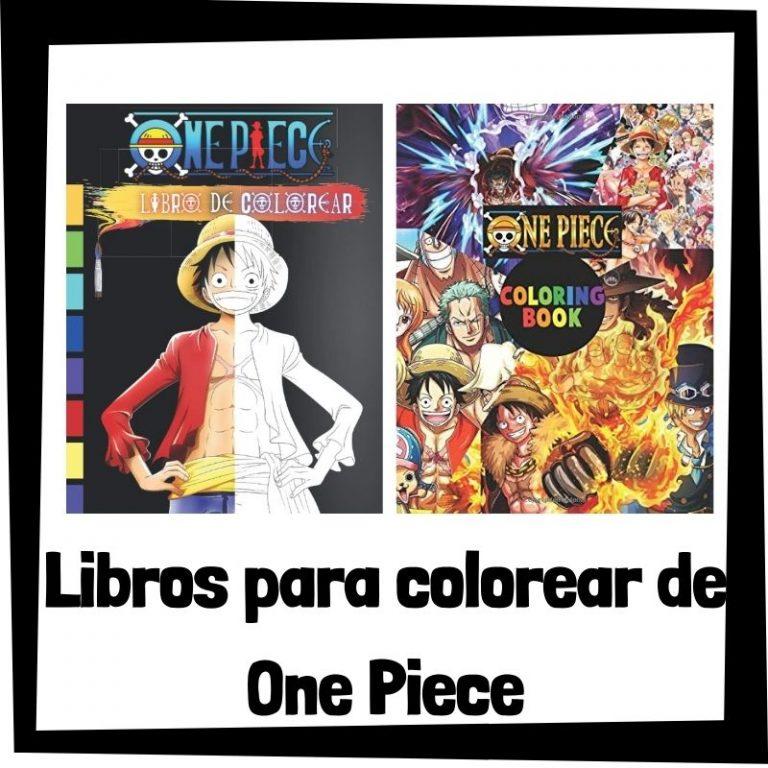 Lee más sobre el artículo Libros para colorear de One Piece
