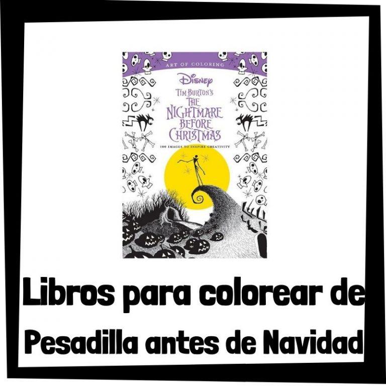 Lee más sobre el artículo Libros para colorear de Pesadilla antes de Navidad