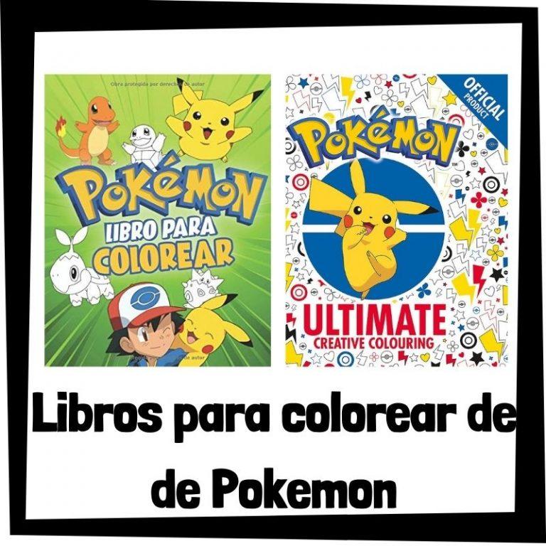 Lee más sobre el artículo Libros para colorear de Pokemon