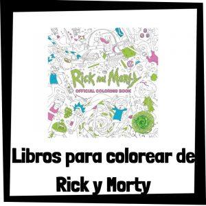 Lee más sobre el artículo Libros para colorear de Rick y Morty