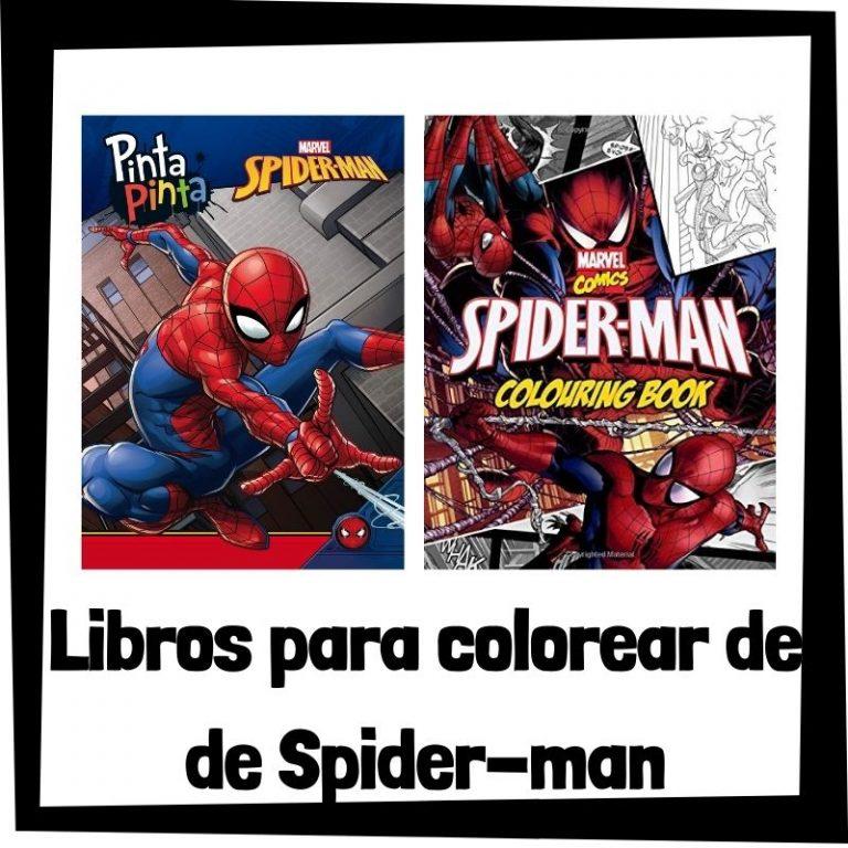 Lee más sobre el artículo Libros para colorear de Spider-man