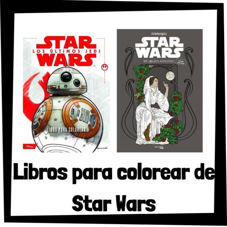 Lee más sobre el artículo Libros para colorear de Star Wars