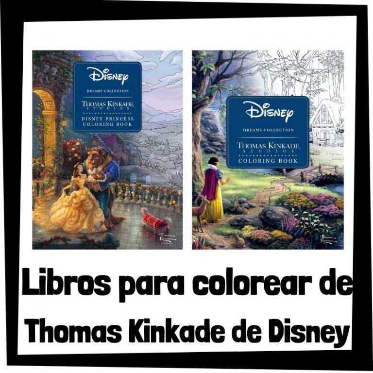 Lee más sobre el artículo Libros para colorear de Thomas Kinkade de Disney