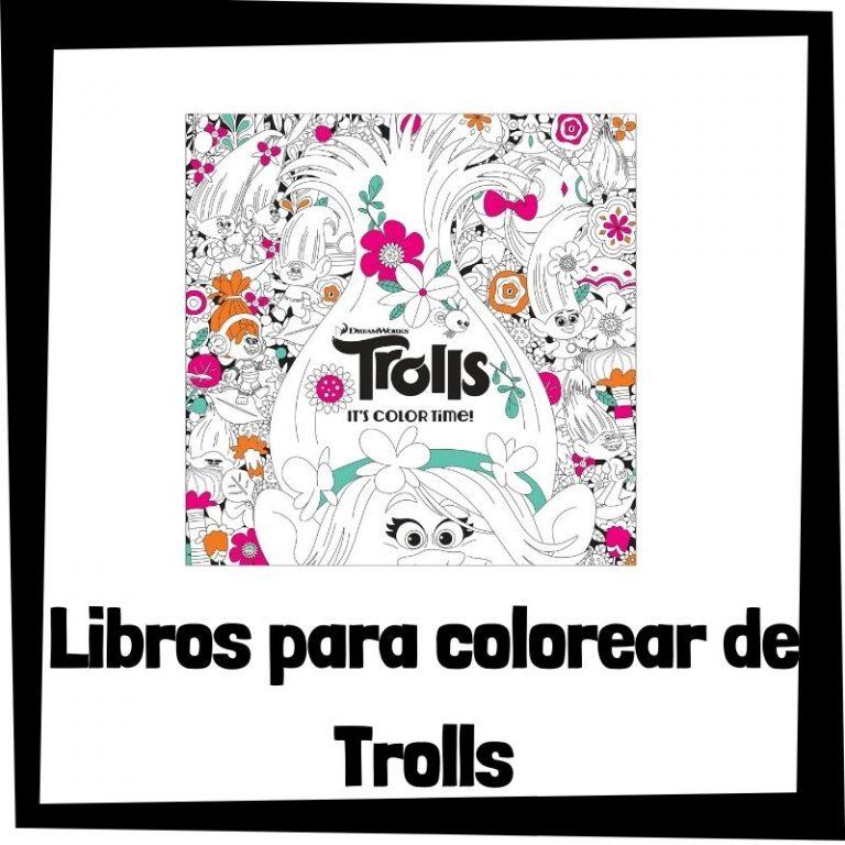 Lee más sobre el artículo Libros para colorear de Trolls