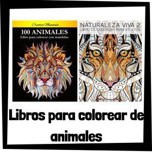 Libros para colorear de animales Los mejores libros de colorear de animales