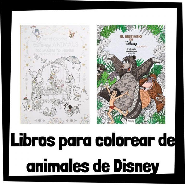 Lee más sobre el artículo Libros para colorear de animales de Disney
