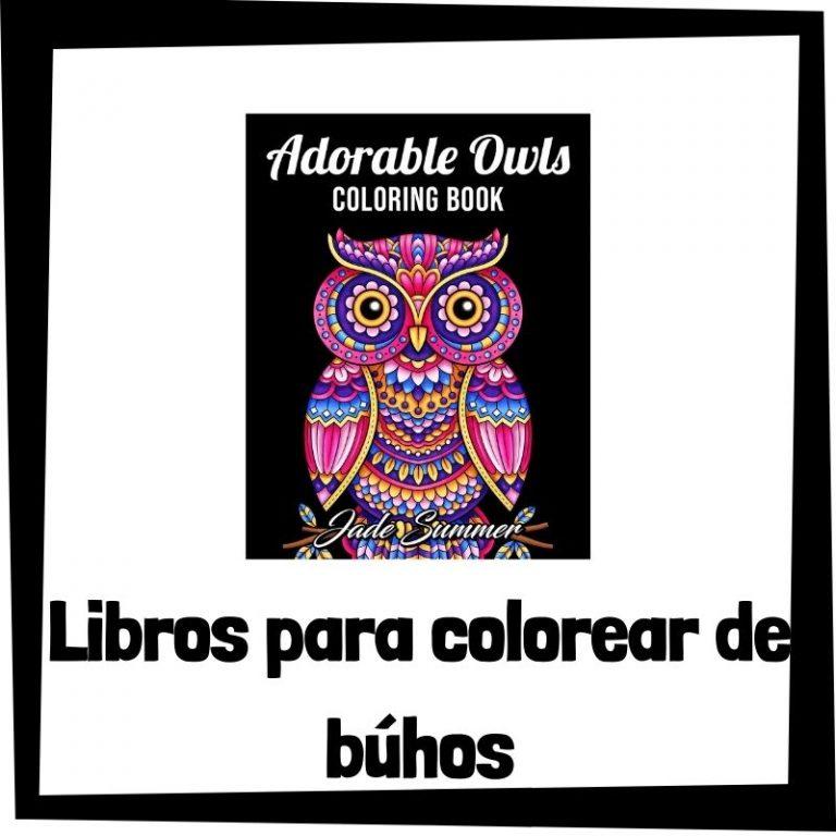 Lee más sobre el artículo Libros para colorear de búhos