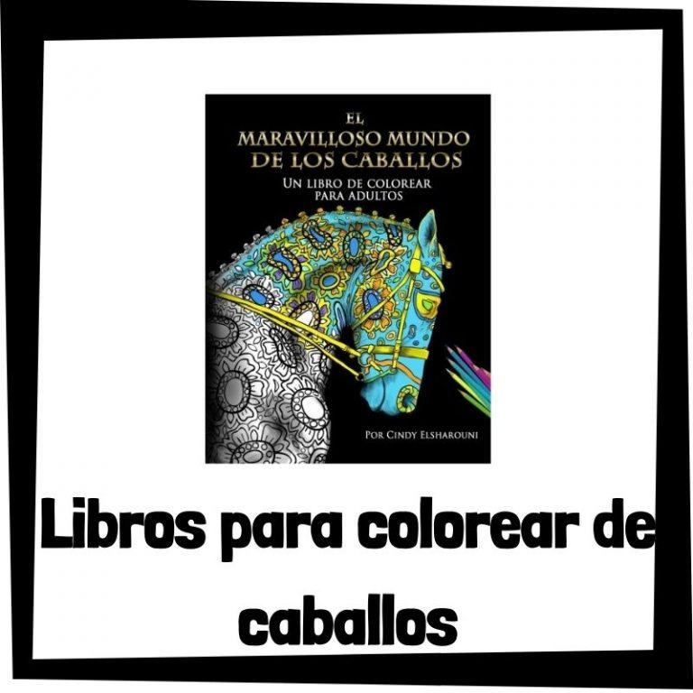 Lee más sobre el artículo Libros para colorear de caballos