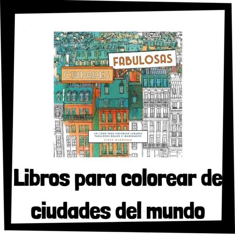 Lee más sobre el artículo Libros para colorear de ciudades del mundo