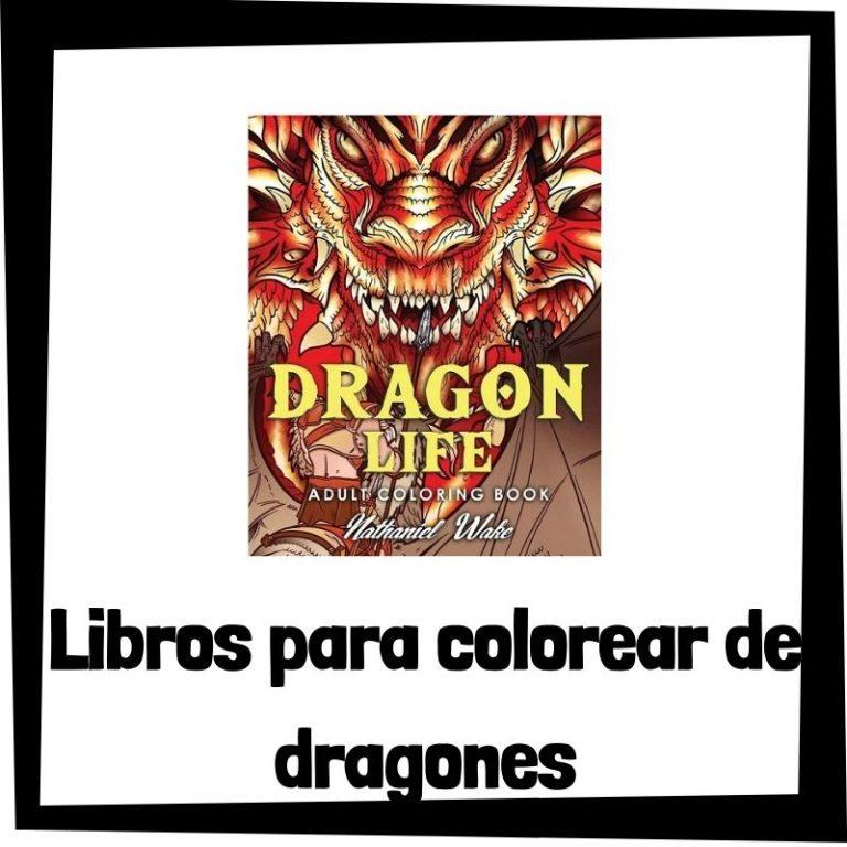 Lee más sobre el artículo Libros para colorear de dragones