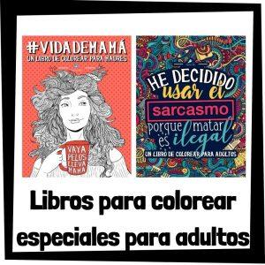 Libros para colorear de especiales para adultos Libros para colorear especiales para adultos