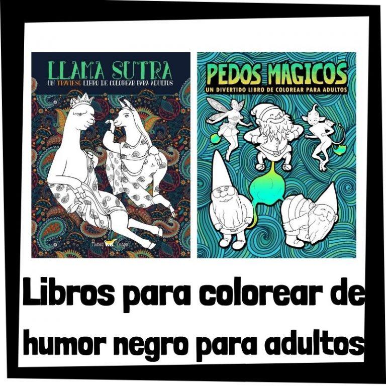 Lee más sobre el artículo Libros para colorear de humor negro para adultos