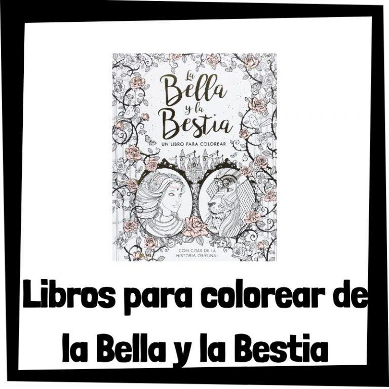 Lee más sobre el artículo Libros para colorear de la Bella y la Bestia
