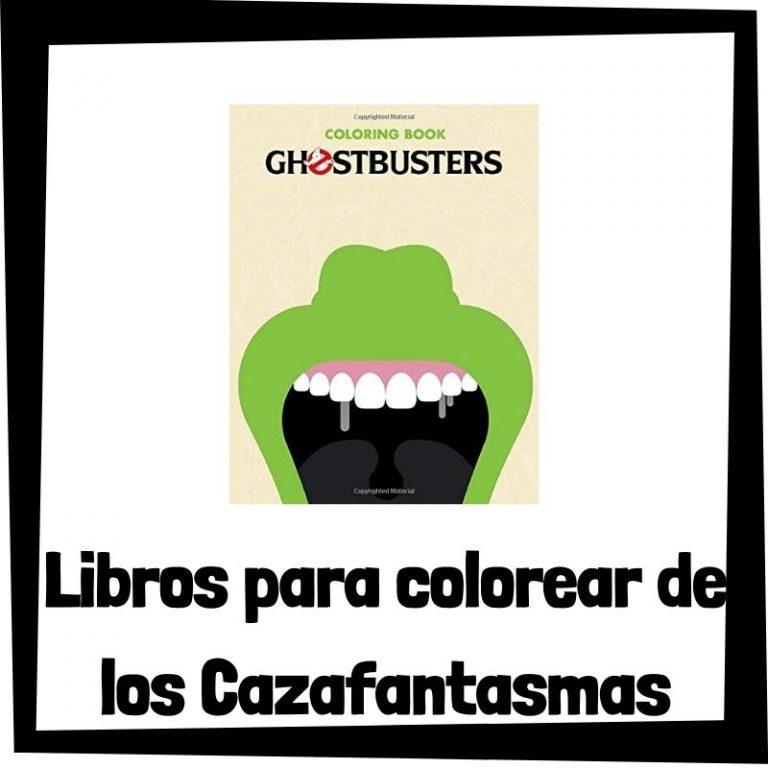 Lee más sobre el artículo Libros para colorear de los Cazafantasmas