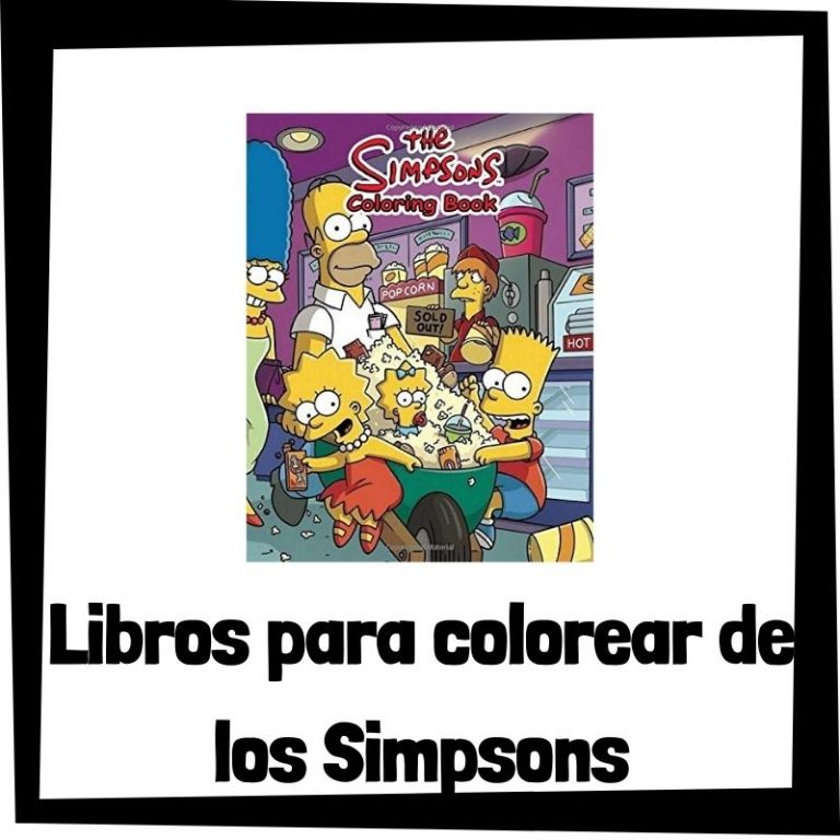 Lee más sobre el artículo Libros para colorear de los Simpsons