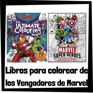 Lee más sobre el artículo Libros para colorear de los Vengadores de Marvel