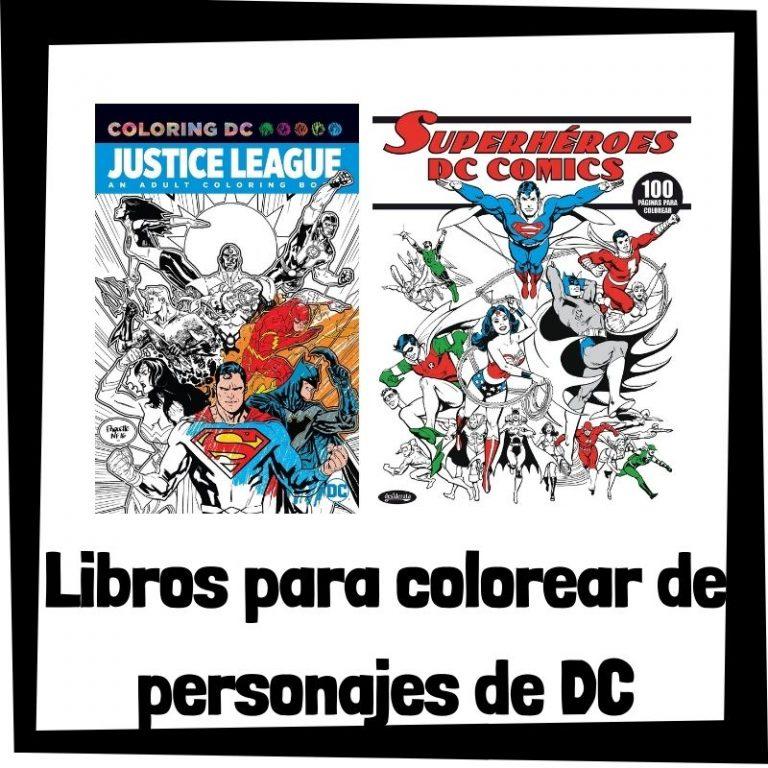 Lee más sobre el artículo Libros para colorear de personajes de DC