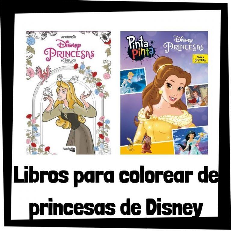 Lee más sobre el artículo Libros para colorear de princesas de Disney