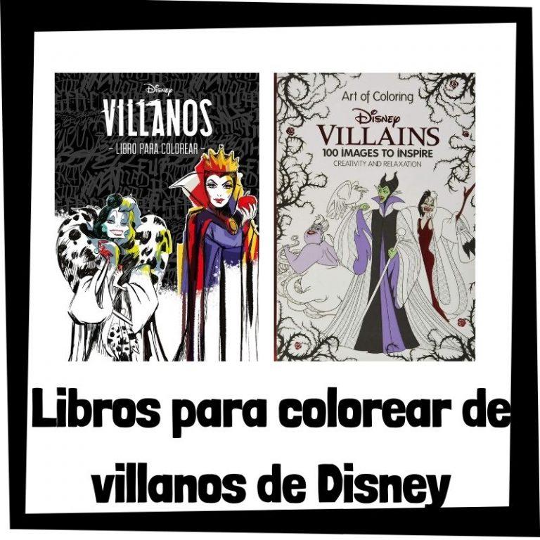 Lee más sobre el artículo Libros para colorear de villanos de Disney