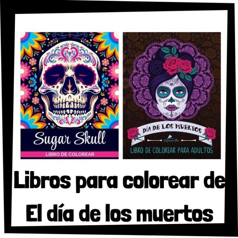 Lee más sobre el artículo Libros para colorear de El Día de los Muertos