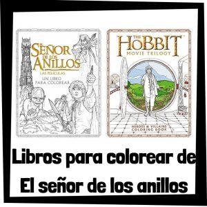 Lee más sobre el artículo Libros para colorear de El señor de los anillos