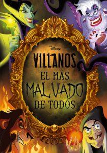 Villanos. El mas malvado de todos Los mejores libros para colorear de villanos de Disney