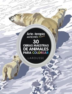Libro para colorear de 30 Obras maestras de animales - Los mejores libros para colorear de animales
