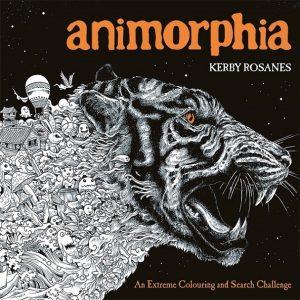 Libro para colorear de Animorphia de animales de 96 páginas 2 - Los mejores libros para colorear de animales