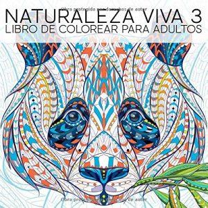 Libro para colorear de Naturaleza Viva 3 - Los mejores libros para colorear de animales