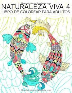 Libro para colorear de Naturaleza Viva 4 - Los mejores libros para colorear de animales